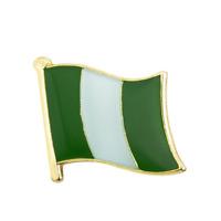 NIGERIA FLAG Enamel Pin Badge Lapel Brooch Fashion Gift Nigerian PN57