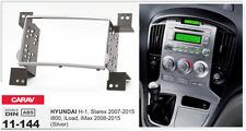 CARAV 11-144 2Din Marco Adaptador Kit Radio HYUNDAI H-1, Starex, iMax (Silver)
