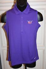 Nike Womens Golf Polo Medium US UK England RYDER CUP 1969 Purple RARE NEW