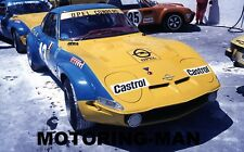 OPEL GT 1900 TARGA FLORIO 1972 PHOTOGRAPH PAOLO MONTI ALBERTO ROSSELLI CONRERO 2