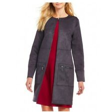 New  Women's Topper Jacket Zip Pocket H Halston Size XS MSRP$199.00