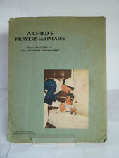 A CHILD'S PRAYERS & PRAISE (Part 2) by REV GR HARDING WOOD c1947 (UNDATED)