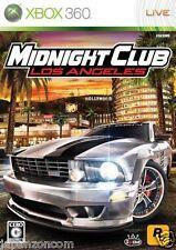 Used Xbox 360 Midnight Club L A MICROSOFT JAPAN JP JAPANESE JAPONAIS IMPORT