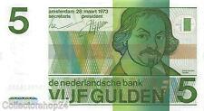 Nederland - Netherlands 5 Gulden 1973 Vf , Pr serial 1570876335
