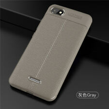 For Xiaomi Redmi 6A 5 Note 6 Pro Shockproof Silicone Soft TPU Leather Case Cover