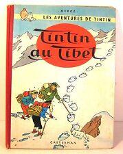 """BD """"tintin au tibet"""" B29 édition originale 1960 cotée 300€"""