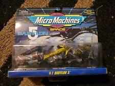 Micro Machines Space Babylon 5 Set #1 Galoob 1995