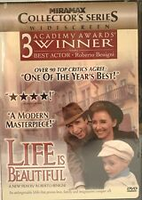 Life Is Beautiful (Dvd, 1999, Collectors Edition) Widescreen Brand New Sealed
