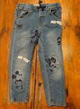Rare! Zara Toddler Disney Baby Mickey Halloween Jeans Sz 2-3