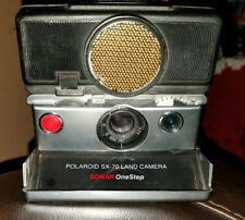 Vintage Polaroid SX-70 Land Camera Sonar OneStep Tested Works !