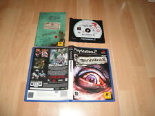 MANHUNT 2 SURVIVAL HORROR UNCENSORED VERSION GAME FOR SONY PS2 USED COMPLETE