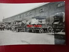 PHOTO  WAGONS OUTSIDE WILLOW WALK  BRICKLAYERS ARMS COMPLEX 1903