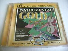16 Timeless Treasures - Instrumental Gold - CD / Countdown Singers
