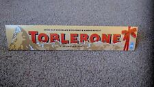 Toblerone Swiss Milk Chocolate Bar Limited Edition 1x750g Bars Extra Large 09/19