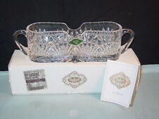 SHANNON CRYSTAL 24% LEAD CRYSTAL CULTERLY HOLER NEW IN BOX