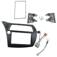 For Civic Double Din Fascia Radio Dvd Stereo Cd Panel Dash Mounting Installat nj