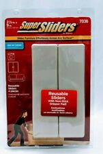 "Super Sliders By Waxman 4 Reusable 2 1/2""X9"" #7036 Furniture Sliders"