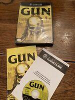 GUN (Nintendo GameCube, 2005) Complete in Gamecube Case w/ Manual