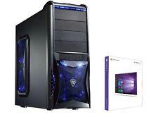 Gamer PC Intel Core i5 6600k 4x3,9Ghz-16GB-4GB GTX1050ti Gaming 1TB HDD rechner