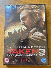TAKEN 3 extended harder cut - liam neeson DVD NEW SEALED