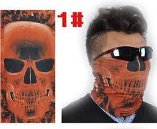 New Skull Multi Bandanna Bike Motorcycle Scarves Face Mask CS Ski Sport 01#
