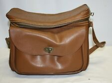 Brown Soft Case / Carry Bag for Cameras Toiletries or Other