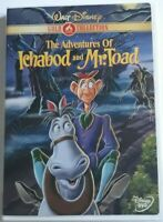 walt Disney's the adventures of Ichabod and mr. toad DVD gold classic collection