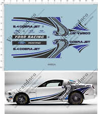 1/24 1/25 Scale REVELL GT500 TG500KR cobra jet ford racing Model Kit Water Decal