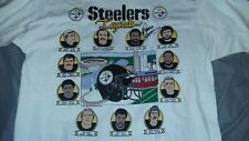 PITTSBURGH STEELERS LEGENDS 1990 T-SHIRT XLARGE SIGNED AUTOGRAPHED FRANCO HARRIS