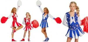 Cheerleader Kleid Kostüm Uniform Trikot Girl Dress Cheerleaderin Damen Tanz Sexy