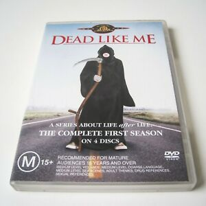 DEAD LIKE ME - THE COMPLETE FIRST SEASON - DVD   4 DISCS