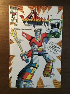 Voltron #1 Modern 1985 Defender of the Universe Special 1st Printing Comic Book