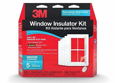 NEW 3M Indoor Window Insulator Kit for 5 Windows
