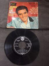 Disque 45 tours Elvis Presley Jailhouse Rock EP - RCX 106