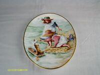 royal worcester edwardian bon voyage summer plate