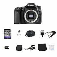 Canon EOS 80D DSLR Camera (Body Only) 32GB Full Kit