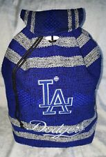 L A Dodgers Backpack Handmade Woven