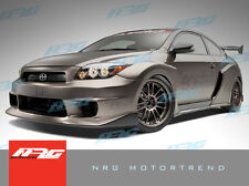 TC 05-10 Scion DM style Poly Fiber full wide body kit front rear fenders bumper