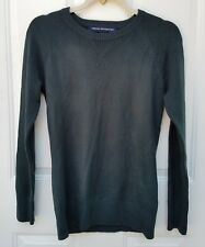 French Connection Mens Size S Crewneck Sweater Dark Charcoal Soft Acrylic Blend