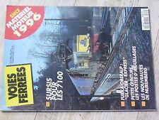 $$w Revue Voies Ferrees N°94 7100  Furka-Oberalp  postes d'aiguillages