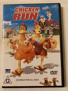 DVD - Chicken Run (2000 Movie) Region 4