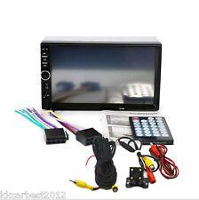 Car Radio Audio Stereo MP5 Multimedia Player 2Din USB Bluetooth Rear View Camera