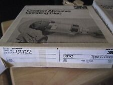 4 X 5/8  80 GRIT 3M FIBER BACK DISC 25pc (A932-25)