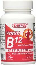 Vegan B12, Deva Vegan Vitamins, 90 tablets