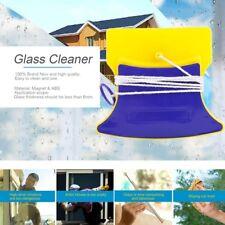Magnetic Window Double Side Glass Wiper Cleaner Clean Brush Pad Scraper Scrubber
