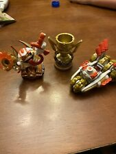 Skylanders Superchargers Land Racing Action Pack Double Dare Trigger Happy Gold
