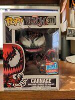 Funko POP! Vinyl Marvel Carnage Venom 371 Fall Convention 2018