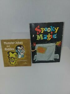 Monster Jokes and Riddles by Norman Bridwell -plus spooky magic scholastic