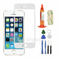 Front Screen Glass Lens Replacement For Apple iPhone 5S/ 5/ 5C White