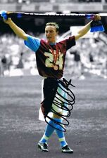 Signed Mark Noble West Ham United Play Off Final Photo Upton Park